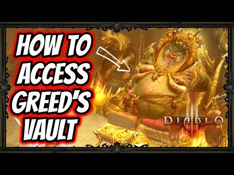 Diablo 3 | Gaming With My Girlfriend - How To Access Greed's Vault