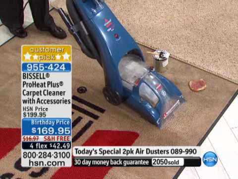 Bissell Proheat Plus Carpet Cleaner With Accessories Youtube