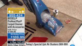 BISSELL ProHeat Plus Carpet Cleaner with Accessories