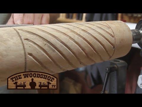 Woodturning Tool / Spiral Cutting Jig