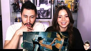 DHOOM 3 trailer reaction review by Jaby & Jen!