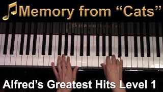 memory-from-cats-elementary-piano-solo