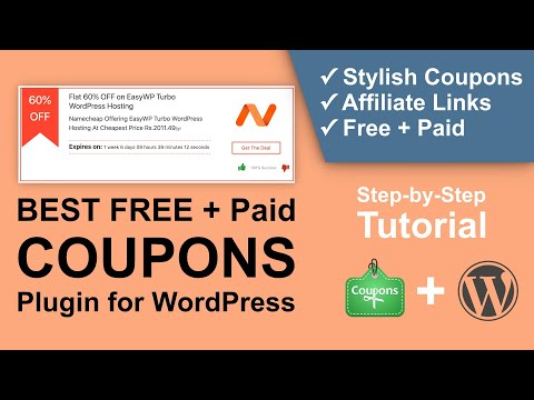 Best Coupon Plugin for WordPress | How to Create Stylish Coupons for Affiliate