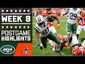 Jets vs. Browns | NFL Week 8 Game Highlights
