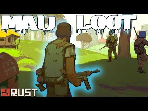 Counter Raiding with a Crazy Stream Sniper | MAD LOOT | Rust
