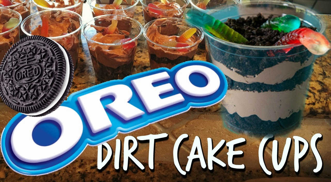 OREO DESSERT DIRT CAKE CUPS YouTube