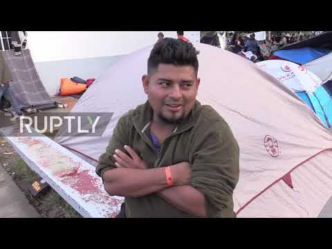 Mexico: Health concerns plague migrant caravan