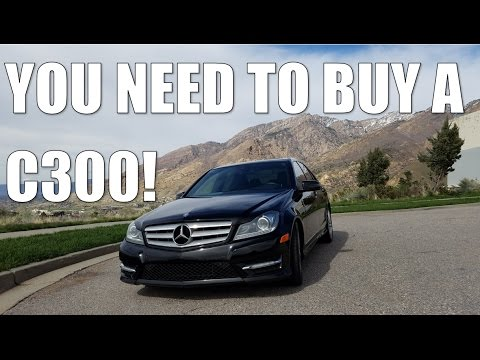 Why You SHOULD BUY A Used MERCEDES C CLASS!