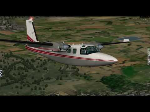 [X-Plane 10] Carenado Aero Commander Shrike 500S | Full Review