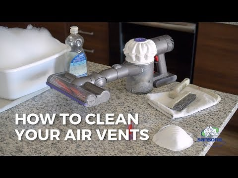 How to Clean Your Home's Air Vents | Sansone