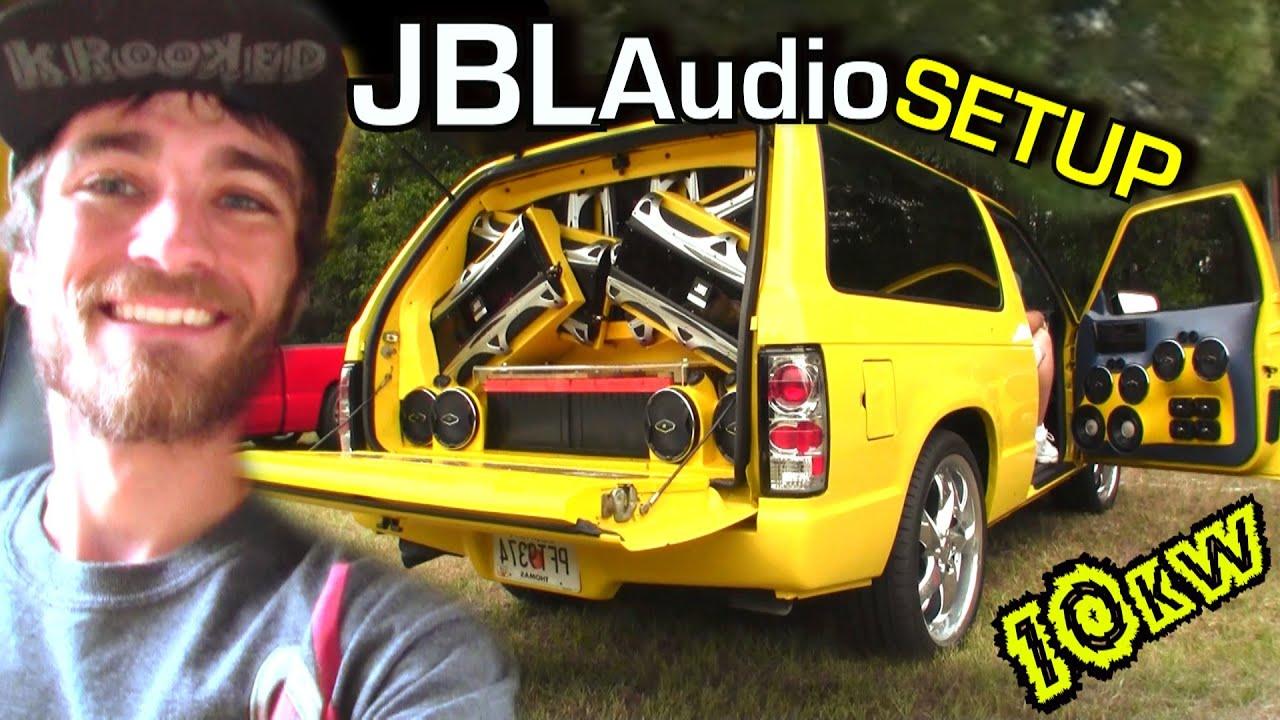 Insane Jbl Audio Sound System W Terrells 12 Quot Gti Mkii