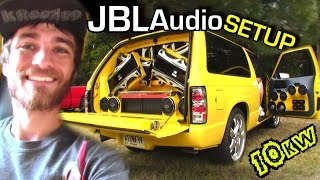 Insane JBL Audio Sound System w/ Terrells 12