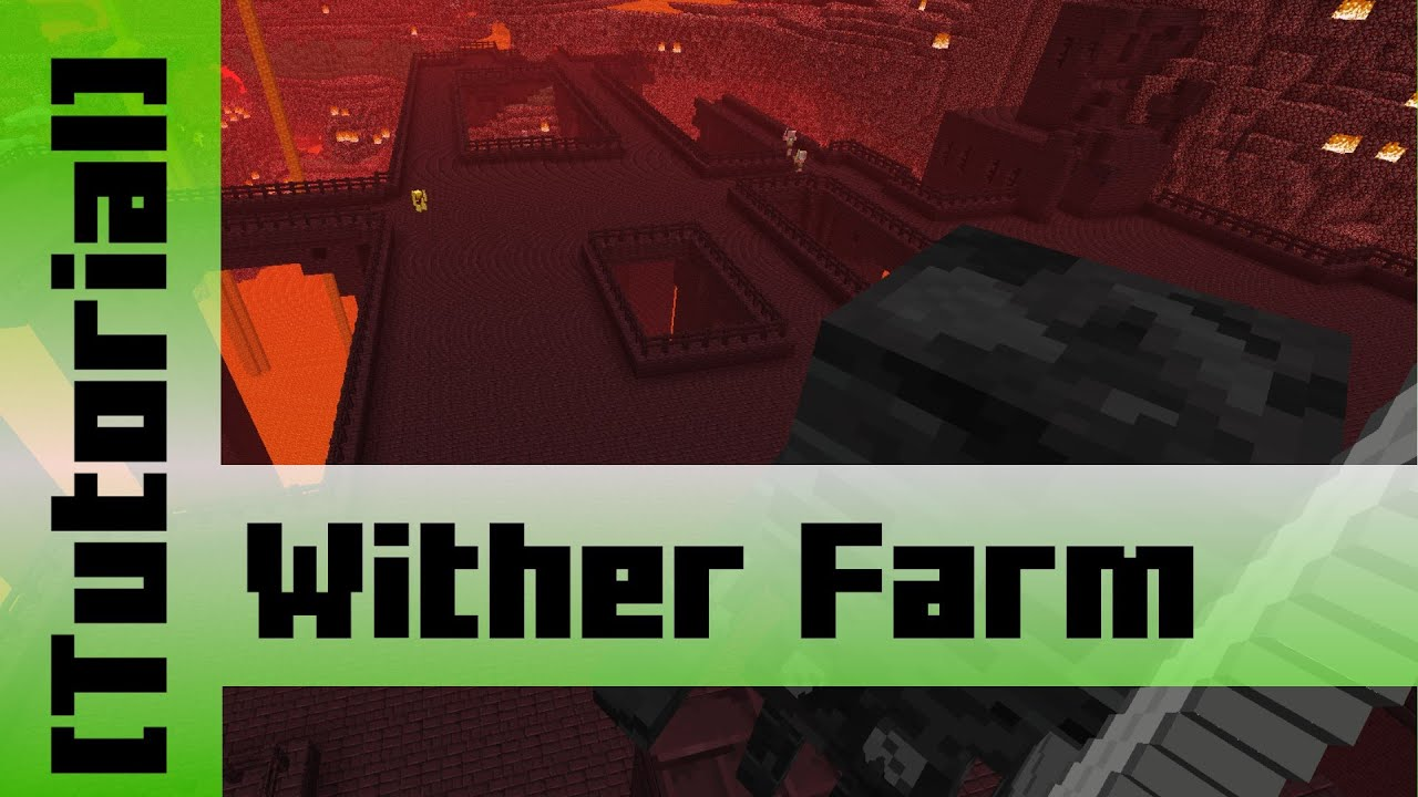 How to prepare a Nether Fortress for Wither Skeleton Farming [Tutorial]