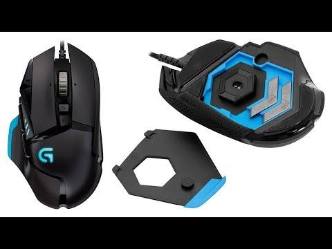 b8f27ff70a1 Обзор игровой мыши Logitech G502 HERO - YouTube