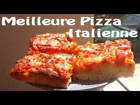 Recette de la vraie pizza italienne de m m youtube - Recette pate a pizza italienne fine ...