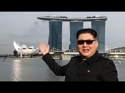 'Kim Jong Un': Trump, I'm here in Singapore!