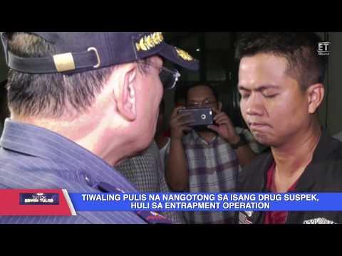 TIWALING PULIS NA NANGOTONG SA ISANG DRUG SUSPEK HULI SA ENTRAPMENT OPERATION