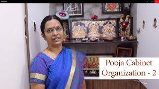 Pooja cabinet organization Pooja cabinet organization in Tamil Pooja Room Tour
