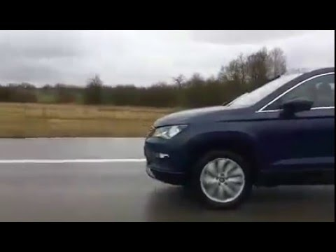 seat ateca spotted on the roads youtube. Black Bedroom Furniture Sets. Home Design Ideas