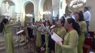 Bài Ca Linh Mục   Ca Đoàn Đồng Tâm VCTD Sài Gòn   Thanha Lễ Bế Mạc Hội Đồng Giám Mục VN
