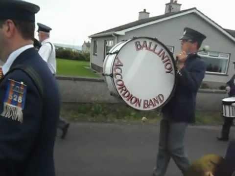 Ballintoy Accordion Band / Church Parade