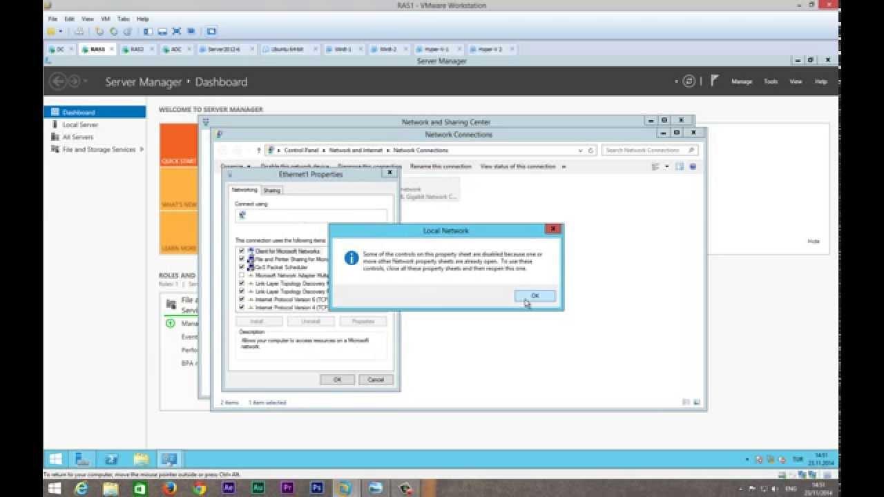 Windows 2012 site to site vpn