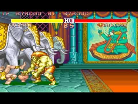 [Arcade]Street Fighter II-The World Warrior Blanka TAS in 9:12