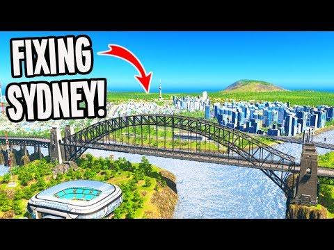 I Was Hired To Fix Sydney's Traffic In Cities Skylines!