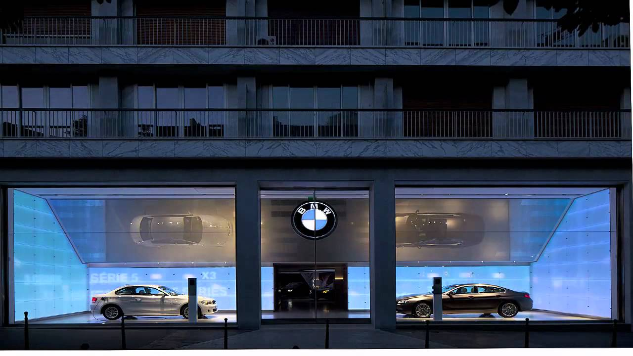 Mindseye Lighting Design Drives Turnkey Project For Bmw Brand Store In Paris Youtube