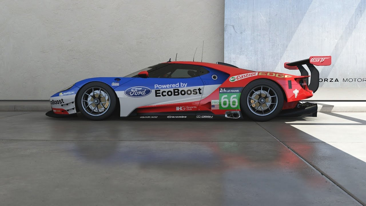 forza motorsport 6 - 2016 ford #66 ford racing gt le mans - youtube