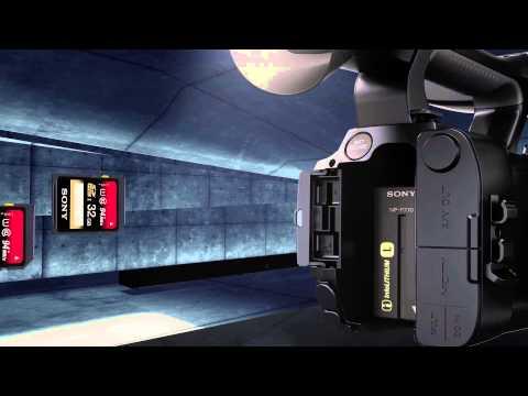 SONY HXR-NX100 1.0-type Exmor R CMOS Sensor camcorder NTSC FUNCTION VIDEO