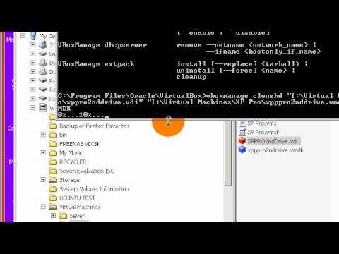 VirtualBox: Converting VDI disk to VMDK disk