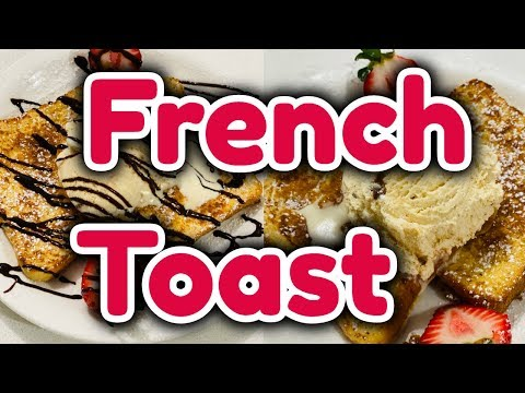 How to Make French Toast Quick and Easy Recipe Homemade French Toast sandwich