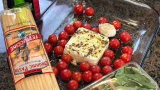 Готовим МЕГА Популярный Рецепт из TikTok Паста с запеченным сыром Фета и Помидорами