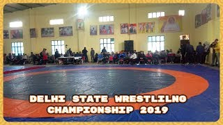 Live 🔴 Delhi State Wrestling Championship 2019 Boys G/r & Freestyle & Women Wrestling