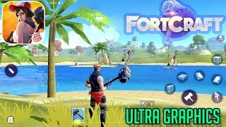 FORTCRAFT MOBILE - ULTRA GRAPHICS GAMEPLAY - iOS / ANDROID