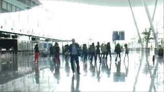 Flashmob Al-mara AirPort Copernicu Wrocław - Zaręczyny