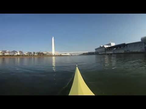 360°動画 日本大学ボート部 2016 4× トレーニング