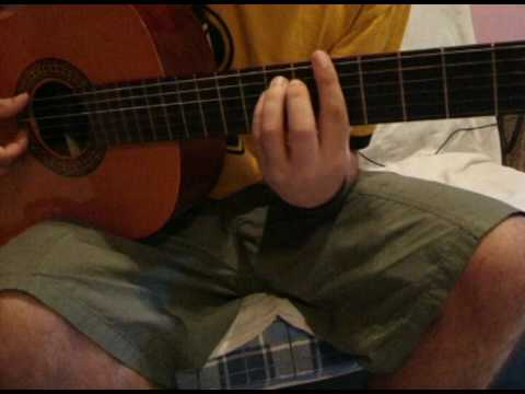 Coming in from the cold guitar cover