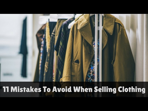 11 Mistakes To Avoid When Selling Clothing on Ebay With Jason Slone