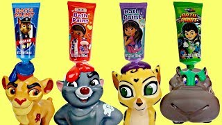 Disney Jr. LION GUARD Finger Bath Paint