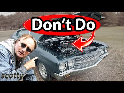 Top 6 Mistakes Car Owners Make