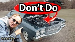 Top 6 Stupid Mistakes Car Owners Make (DIY Fails) - with Scotty Kilmer