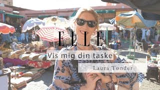 Show me your bag with Laura Tønder in Marrakesh