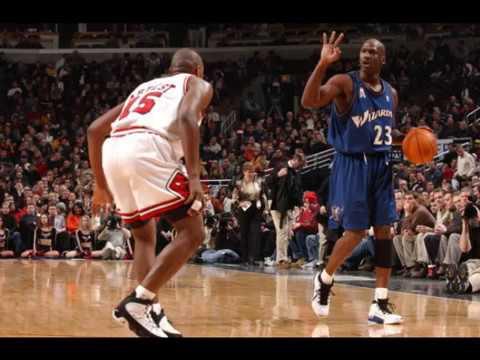 90b00dc53fd1 Michael Jordan wearing every Air Jordan in Game (1-18)