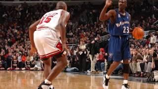 Michael Jordan wearing every Air Jordan in Game (1-18)
