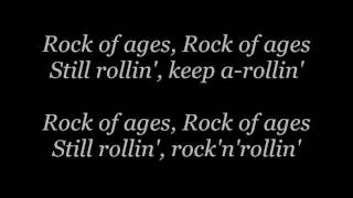 Repeat youtube video Def Leppard - Rock Of Ages lyrics
