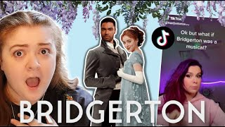 the next big tiktok musical is... Bridgerton?!