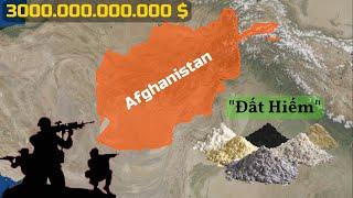 Tại sao Afghanistan có Mỏ đất hiếm 3000 tỷ $ nhưng không Giàu?