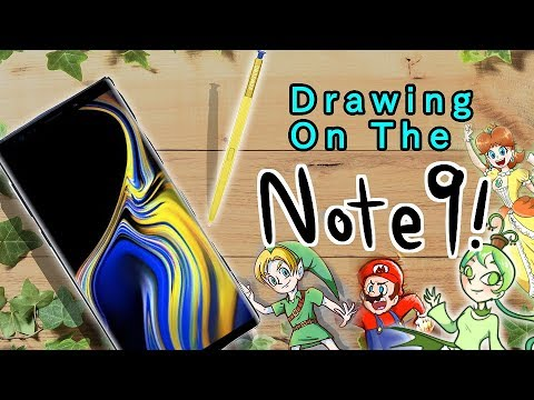 Drawing on the NOTE 9 | How I do DIGITAL ART